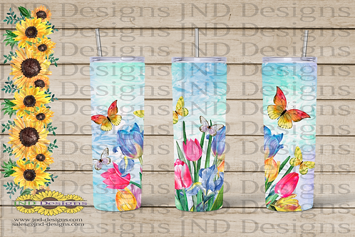 Nature Tumbler Series - Butterfly 01