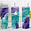 Thumbnail: Geode Series Tumbler - Purple/Aqua
