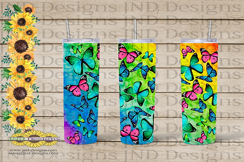 Nature Tumbler Series - Butterfly 03