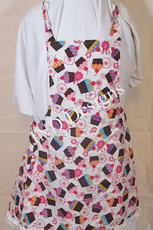 Women's Apron, Child's Apron, Adult Child Apron, Novelty Apron, Mother's