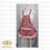 Thumbnail: Women's  and Child's Apron, cotton print with pockets
