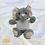 Thumbnail: Custom Personalized Stuffed Elephant