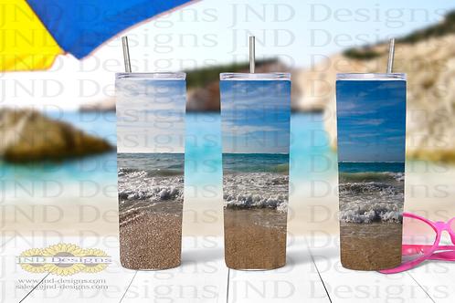 Nature Tumbler Series - Beach 1