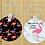 Thumbnail: Custom Personalized Round Keychain
