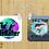 Thumbnail: Custom Personalized Square Keychain