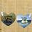 Thumbnail: Custom Personalized Heart Keychain
