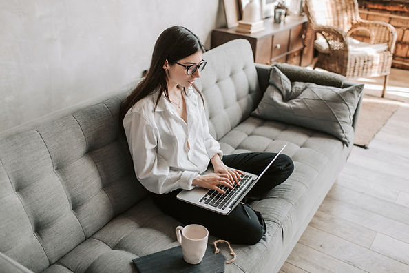 woman-working-at-home-using-laptop-40502