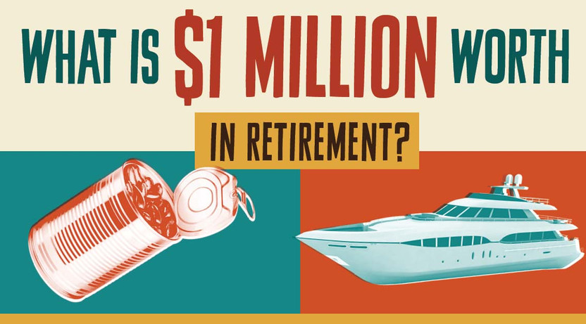 WHAT IS $1 MILLION WORTH IN RETIREMENT?