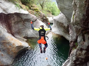 Take a canyoning tour in the heart of Ticino with Purelements | Ticino, Switzerland