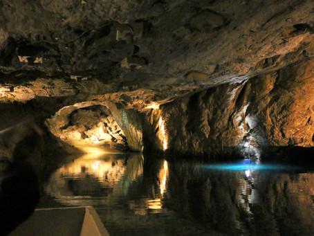 The biggest underground lake in Europe in Valais, Switzerland!