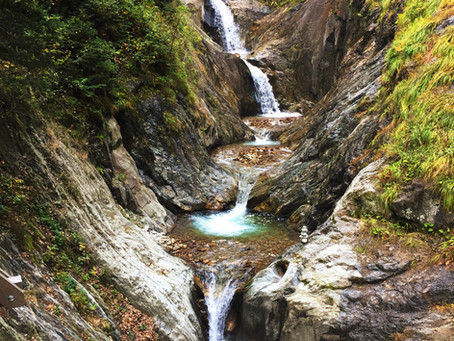 """The hidden Waterfalls of Valais """"Gorges of Durnand"""""""
