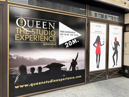 Where Queen recorded their last album| Queen Museum in Montreux, Switzerland
