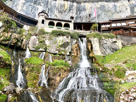 The dragon slayer and healing qualities of the St. Beatus Caves | Beatenberg, Switzerland