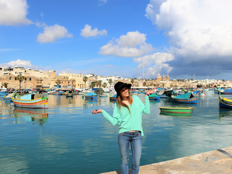 From fish to beautiful views as well as a walking orchestra! The Marsaxlokk market | Malta