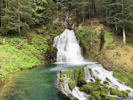 The healing power of waterfalls! The waterfall of Jaun, Switzerland, 13'500 Bovis Units (BE)