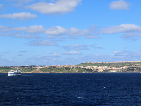 Breathtaking perspectives whilst taking a boat ride from Malta to Gozo