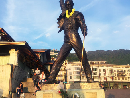 """The show must go on! Freddie Mercury lives on """"Freddie For A Day"""" Montreux, Switzerland"""