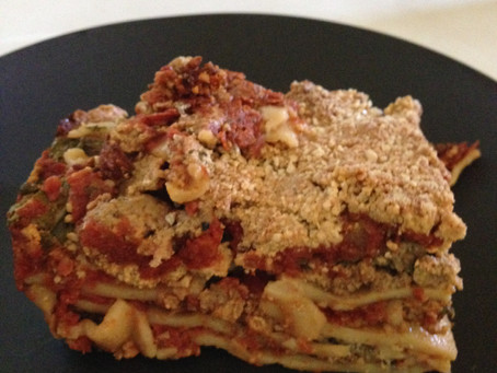 Vegan Lasagna made oil-free: a delightful feast for anyone