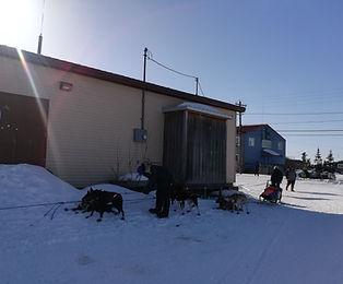 Mushing in Alaskan villages