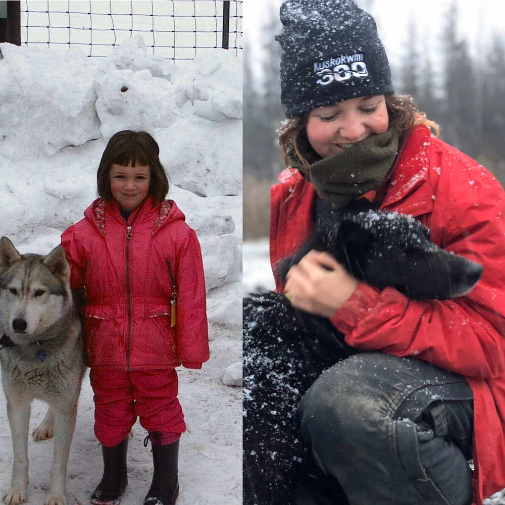 Louise dreamed of training sled dogs since she was a kid