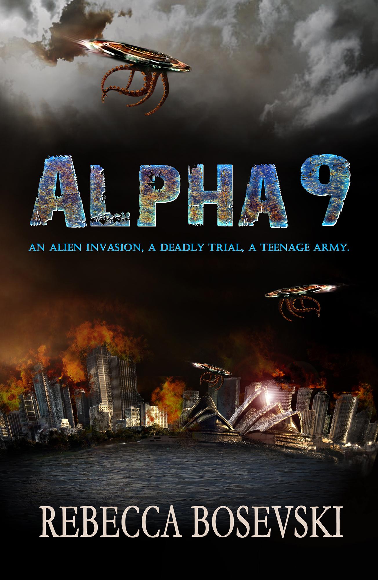 Alpha Nine Paperback cover