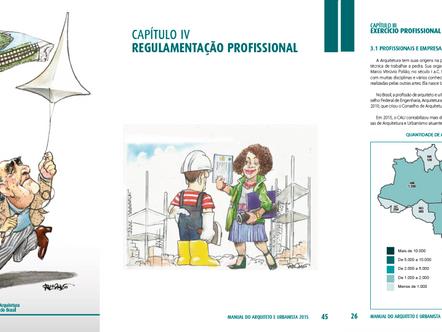 Manual do Arquiteto e Urbanista reúne orientações aos profissionais