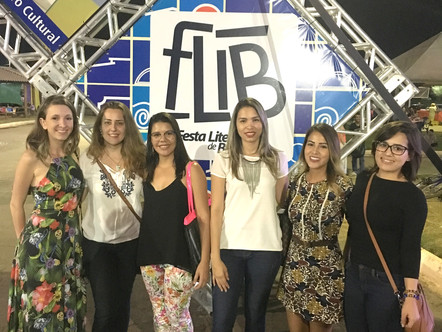 Participação do NAU na FLIB (Festa Literária de Barreiras)