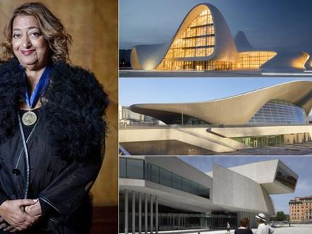 Morre Zaha Hadid, a mais famosa Arquiteta do Mundo