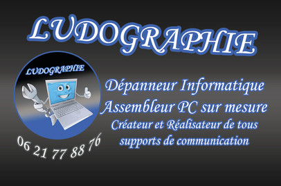 Carte de Visite Ludographie Recto