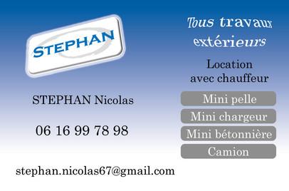 Carte de Visite Stephan Verso