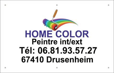 Banderole Home Color