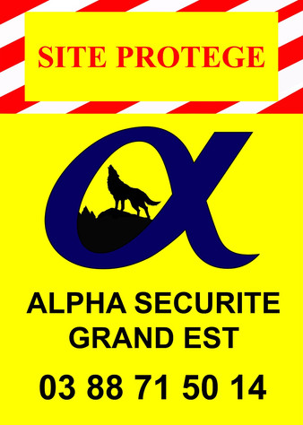 Panneau de Chantier Alpha Sécurité Grand