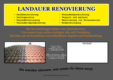 Flyer Landauer Verso