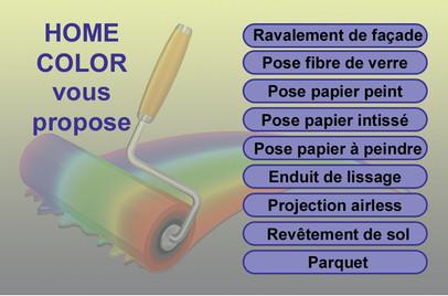 Carte de Visite Home Color Verso