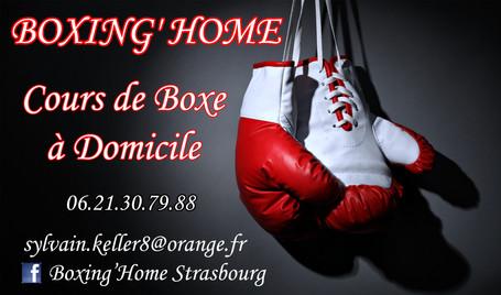 Carte de Visite Boxing Home