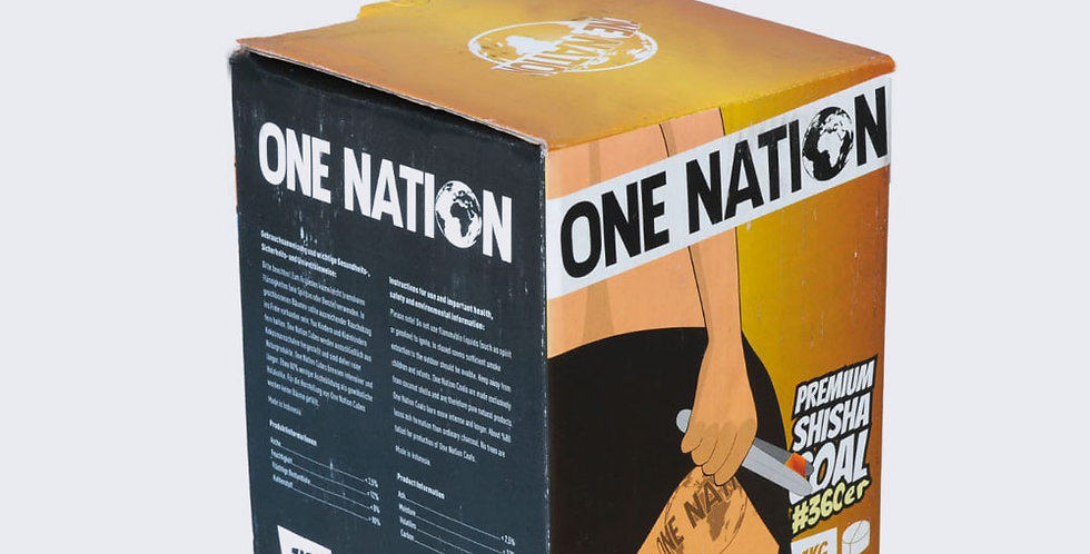 One Nation 360 Nargile Kömürü