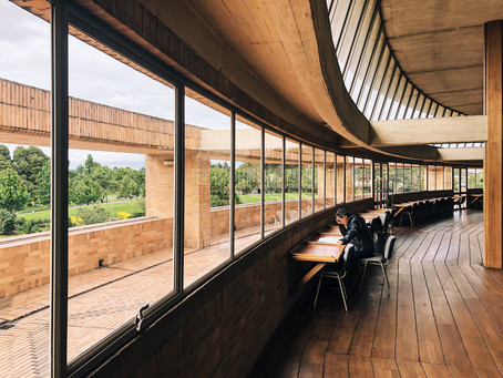 The must see building in Bogota: Virgilio Barco Library by Rogelio Salmona