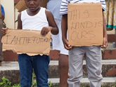 Caribbean people fighting for ownership of their land