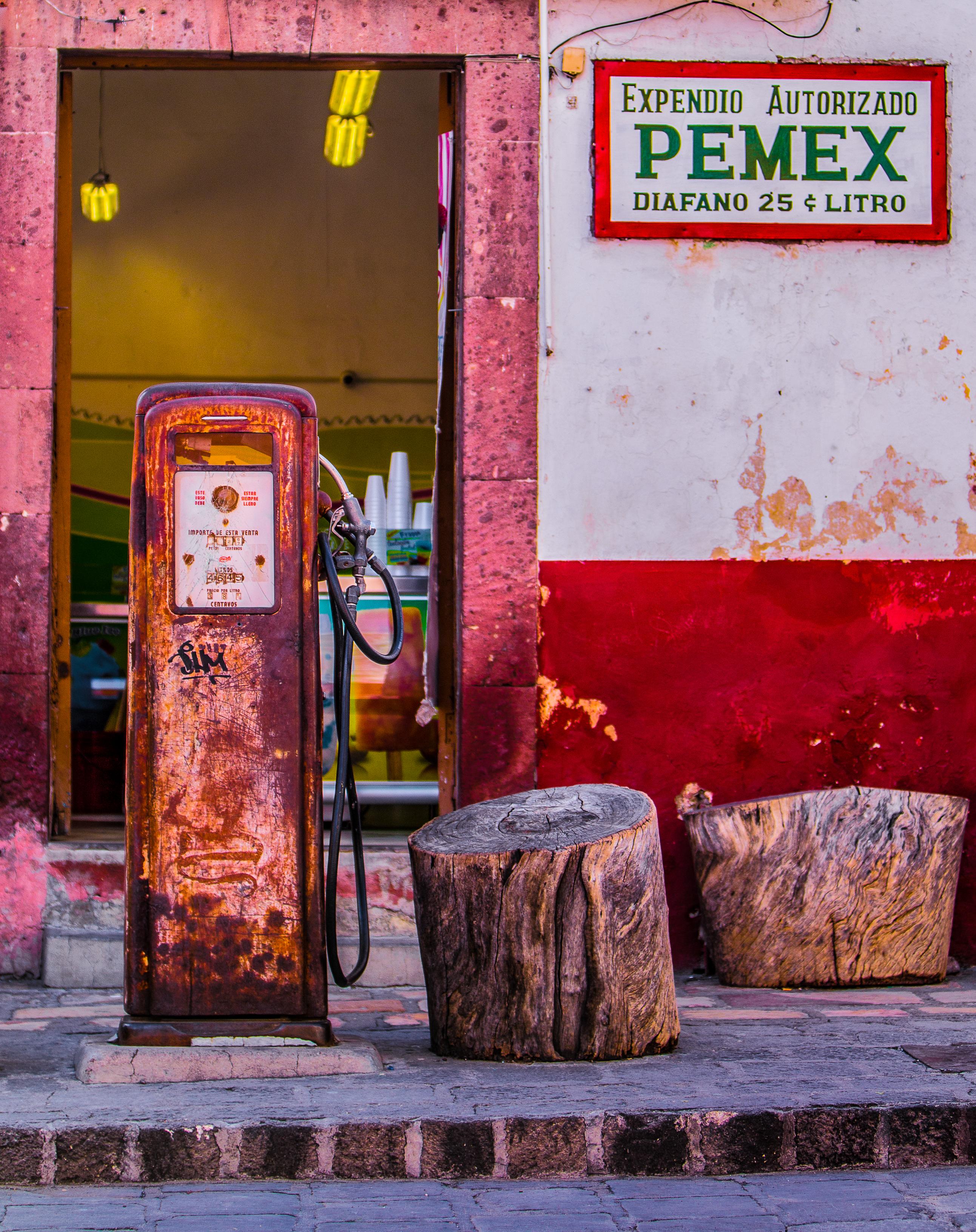 Mexican Gas Pump