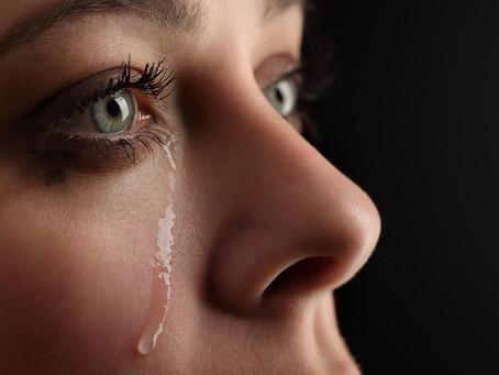 White tears & black TV