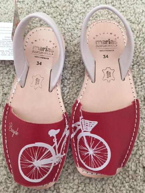 Maria Bike Neve Vermelha