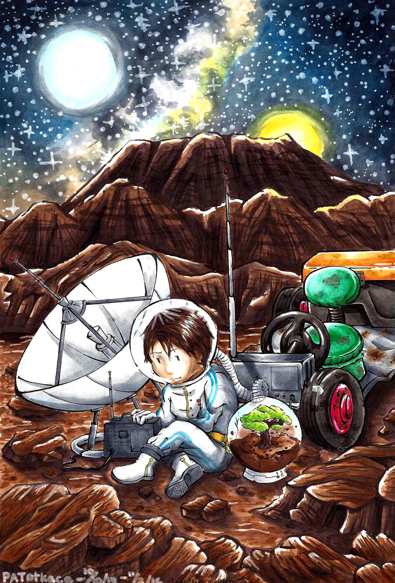 Christina Patricia - Martian Planet Option #1