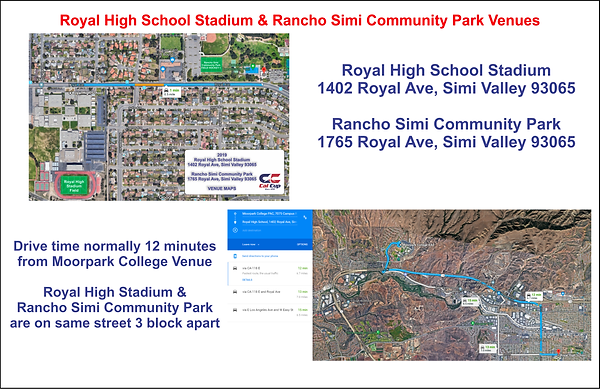 Royal Stadium_Rancho Simi Park Venue Map