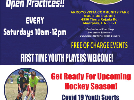 Free Open Practices Every Saturday!