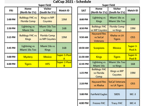 Cal Cup 2021 Schedules Final 6-29-2021