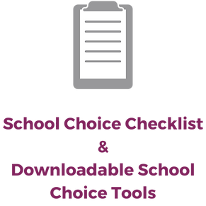 School Choice Checklist & Downloadable S