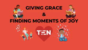 GIVING GRACE AND FINDING MOMENTS OF JOY