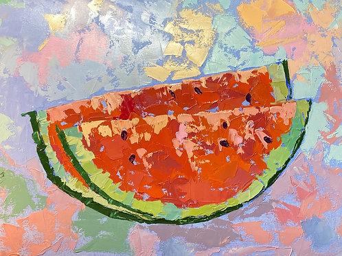 Fancy watermelon