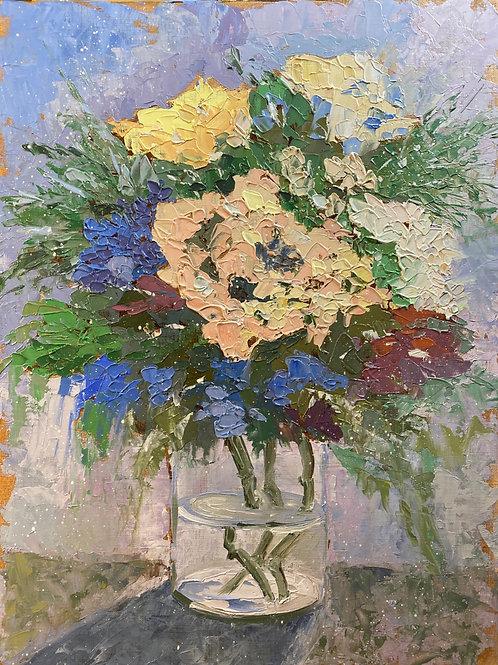 Les fleurs en contre-jour