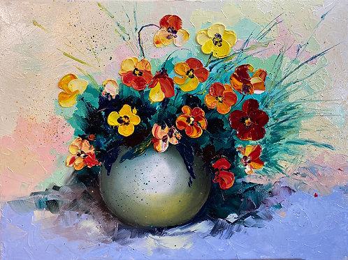 Colorfoul pansies